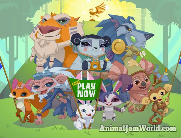 animal jam games for free