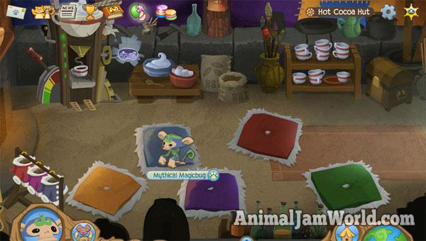 How To Drink Hot Cocoa In Animal Jam