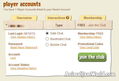how to delete an animal jam accound