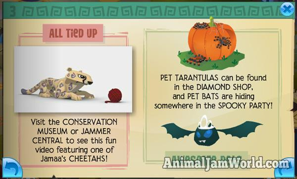 Cheetahs come to jamaa animal jam world - How to get a bat on animal jam ...