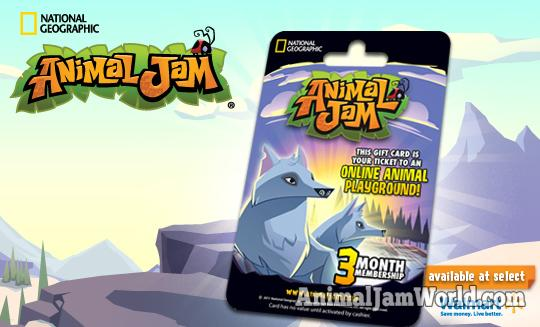 animal jam membership codes