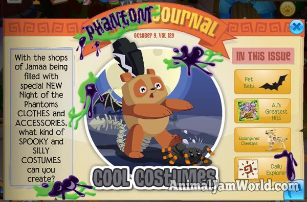 Phantom journal update animal jam world - How to get a bat on animal jam ...