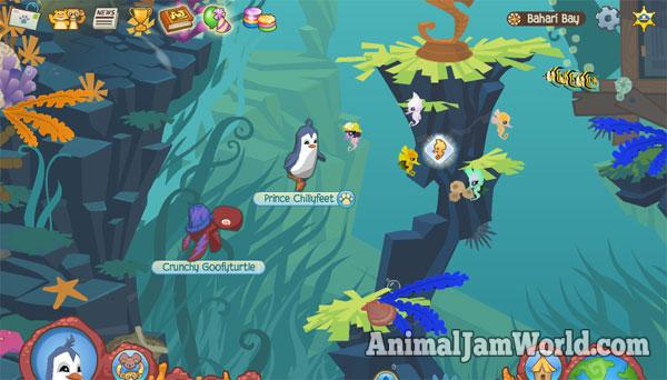 Image of: Centipede Baharibay2 Cell Code Bahari Bay Secrets Guide Animal Jam Animal Jam World