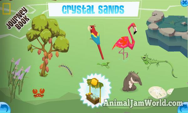 Image of: Music Crystalsandsbook Animal Jam World Crystal Sands Journey Book Cheats Animal Jam Animal Jam World