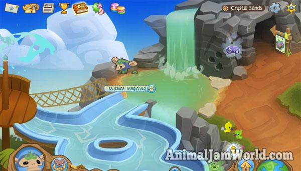 Image of: Jamaa Waterslides Animal Jam World Crystal Sands Secrets Guide Animal Jam Animal Jam World