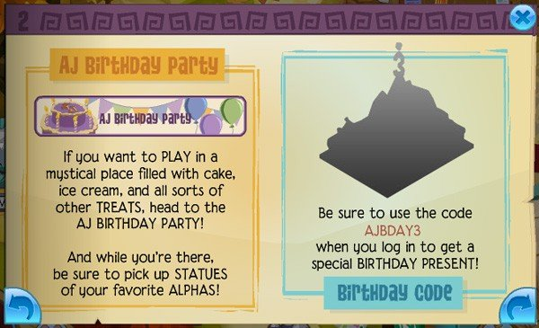 Animal Jams 3rd Birthday Other News Animal Jam World