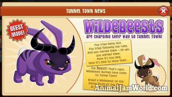 tunnel-town-wildebeest