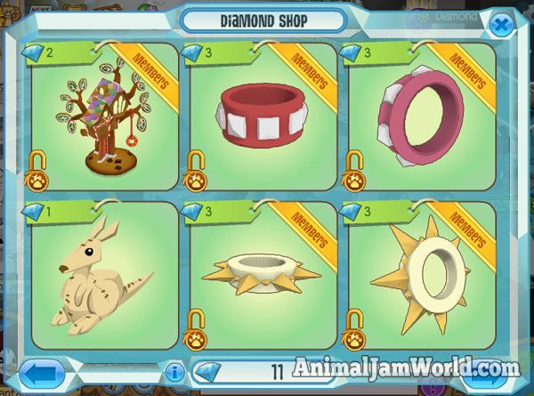diamond-shop-items