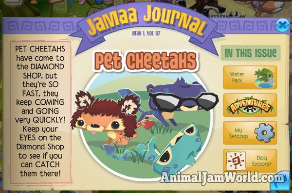 Beta Animaljampetcheetahs Animal Jam World Pet Cheetahs Are Here Animal Jam World