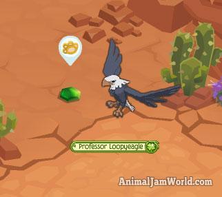 animal-jam-forgotten-desert-green-crystal