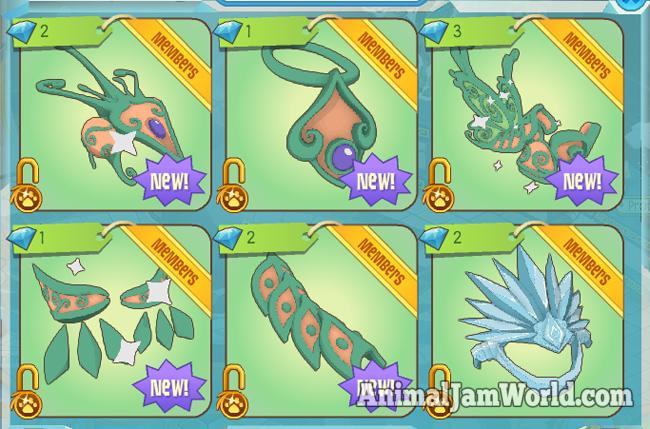 Animal Jam Mystical Armor Codes Animal Jam World