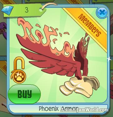 animal-jam-phoenix-armor