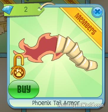 animal-jam-phoenix-tail-armor