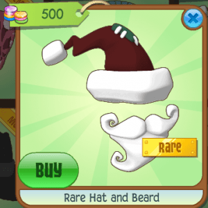 Rare Hat and Beard